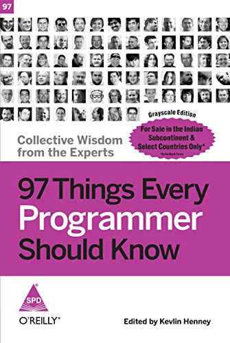 9788184049510: 97 Things Every Programmer Should Know