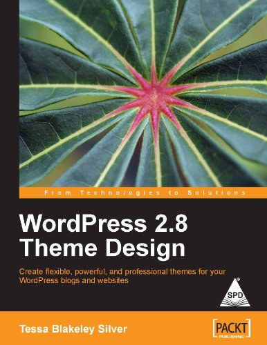9788184049664: WORDPRESS 2.8 THEME DESIGN