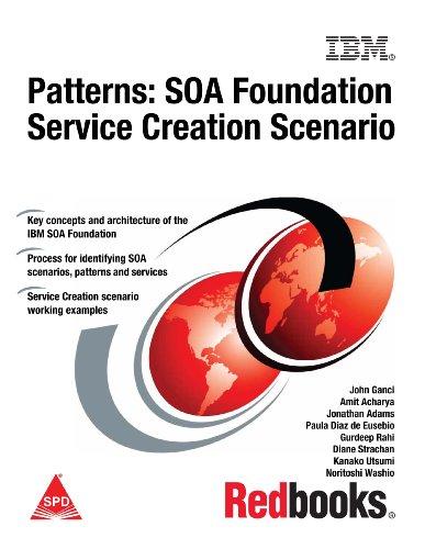 Patterns: SOA Foundation Service Creation Scenario: John Ganci