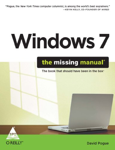 9788184049916: WINDOWS 7 THE MISSING MANUAL