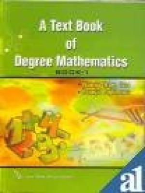 9788184120387: A TEXT BOOK OF DEGREE MATHEMATICS BOOK-1