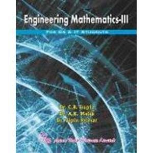 Engineering Mathematics-III: Kumar Vipin Malik