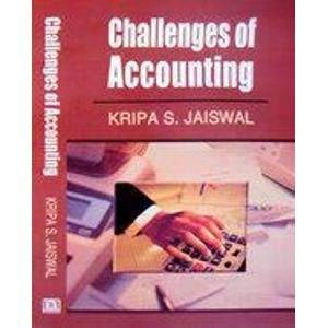 Challenges of Accounting: K.S. Jaiswal