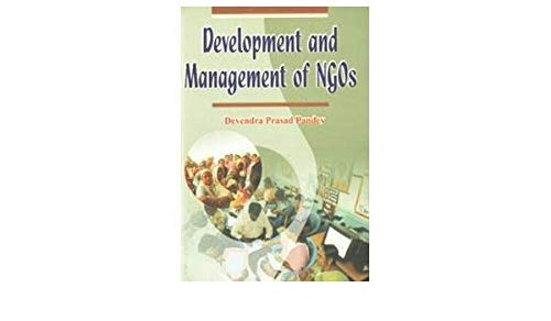 9788184351613: Development and Management of NGOs
