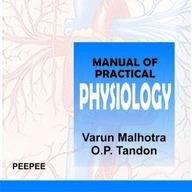 Manual of Practical Physiology: varun malhotra
