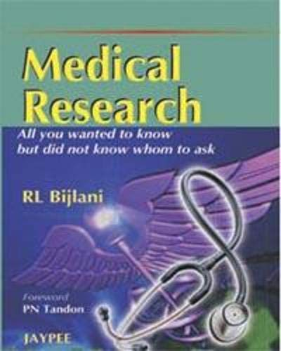 Medical Research, 1/E: Bijlani