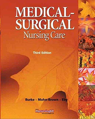 Textbook of Medical and Surgical Nursing: Usha Ravindran Nair