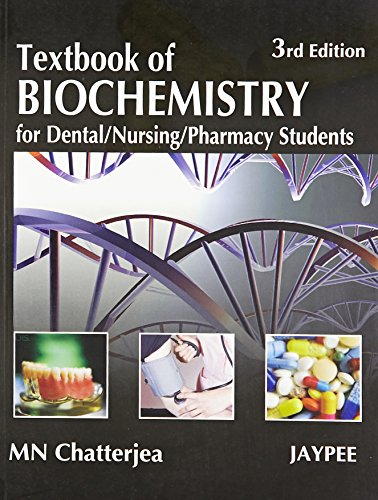 9788184485318: Textbook of Biochemistry for Dental, Nursing