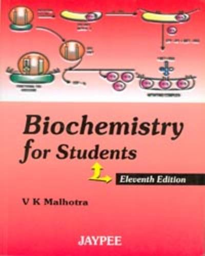 9788184486384: Biochemistry for Students