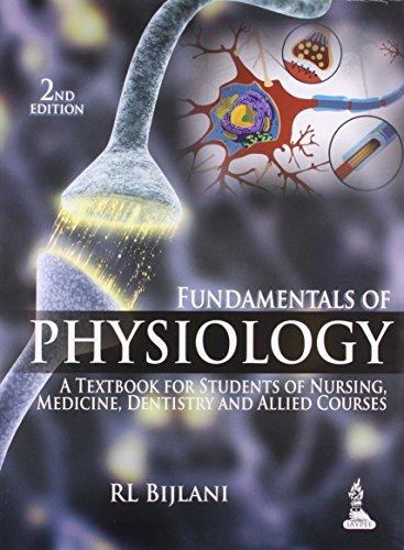 Fundamentals of Physiology: Bijlani R.L.