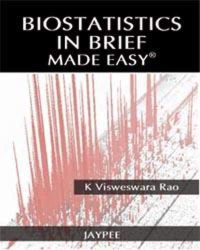 Biostatistics in Brief: Made Easy: K Visweswara Rao