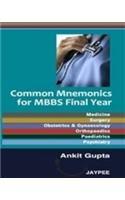 Common Mnemonics for MBBS Final Year: Ankit Gupta