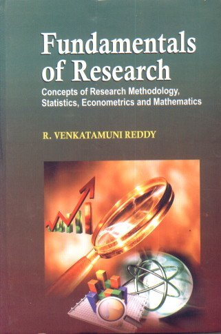 Fundamentals of Research (Concepts of Research Methodology,: Reddy, V.R.