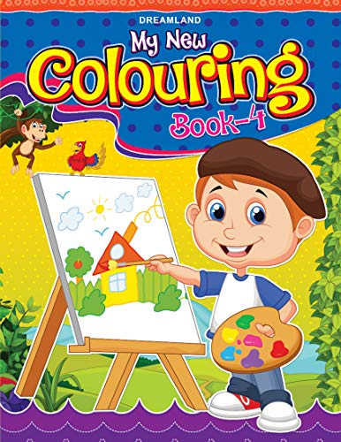 My New Colouring Book - 4: NA