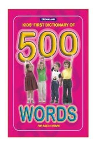 9788184510799: Kid's First Dictionary 500 Words