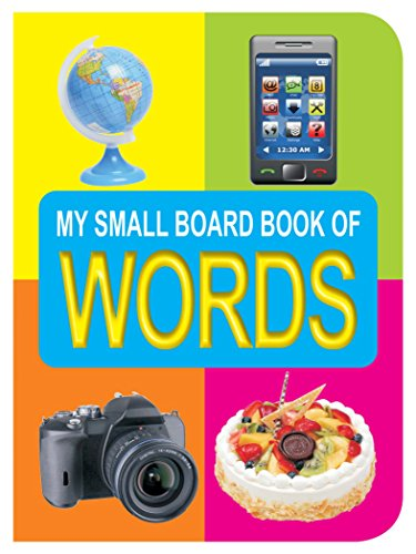 9788184510904: My Small Board Books - Words