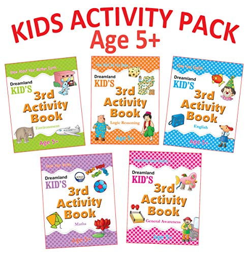 9788184515831: Kid's Activity Age 5+ - Pack (5 Titles)