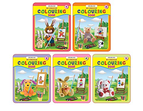 9788184518191: My Creative Colouring Book (Set of 5 Books)