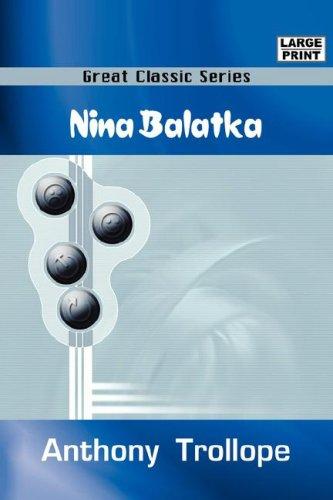 9788184565577: NINA BALATKA