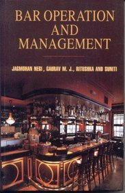 Bar Operation and Management: Suniti Gaurav M.J.
