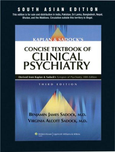 Kaplan & Sadocks Concise Textbook Of Clinical: SADOCK