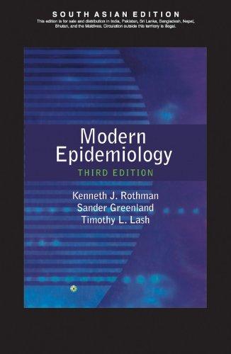9788184731125: Modern Epidemiology (EDN 3) by Kenneth J. Rothman,Timothy L. Lash,Sander Greenl