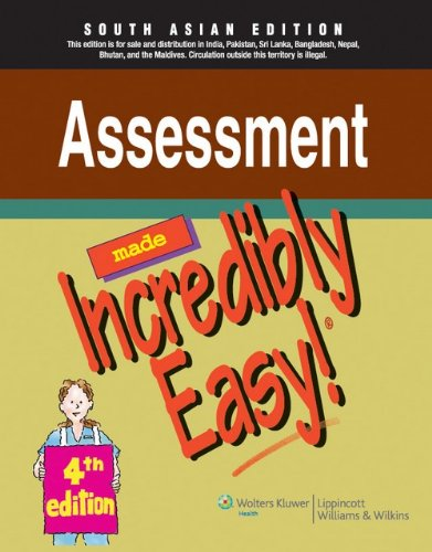 9788184731200: Made Incredibly Easy: Assessment, 4/E