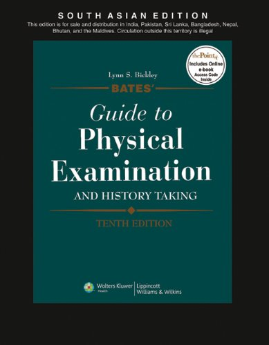9788184731828: Bates' Guide to Physical Examination