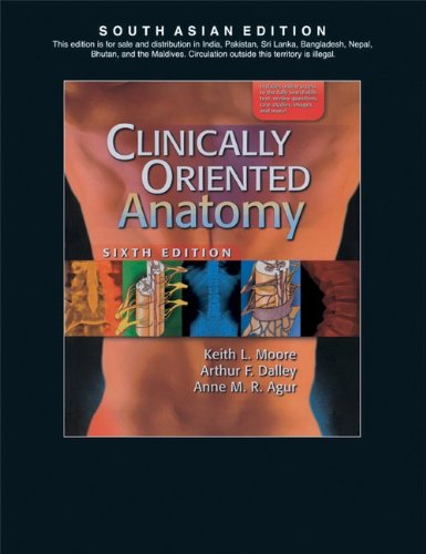 9788184731835: Clinically Oriented Anatomy, 6/E