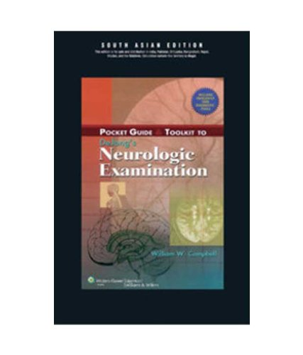 9788184732917: Pocket Guide & Toolkit to DeJong's Neurologic Examination