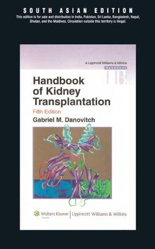 9788184733068: Handbook of Kidney Transplantation