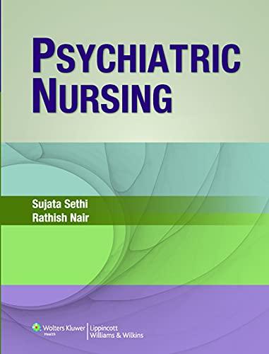Psychiatric Nursing: Rathish Nair,Sujata Sethi