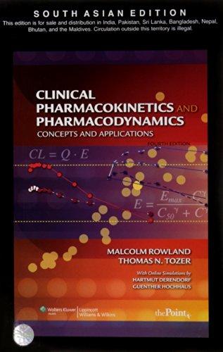 9788184733983: Pharmacokinetics & Pharmacodynamics 4/e