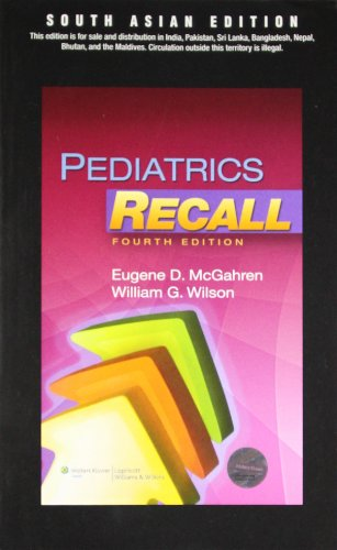 Pediatrics Recall: McGrahen