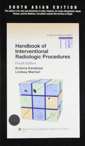 9788184734416: Handbook of Interventional Radiologic Procedures