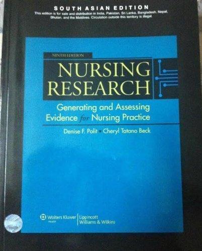9788184735338: Nursing Research, 9/e