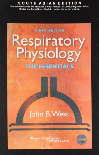 9788184736168: RESPIRATORY PHYSIOLOGY, THE ESSENTIALS : WITH THEPOINT ACCESS SCRATCH CODE, 9/E