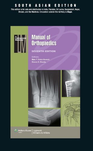 Manual Of Orthopaedics (Sae), 7/Edition: SWIONTKOWSKI