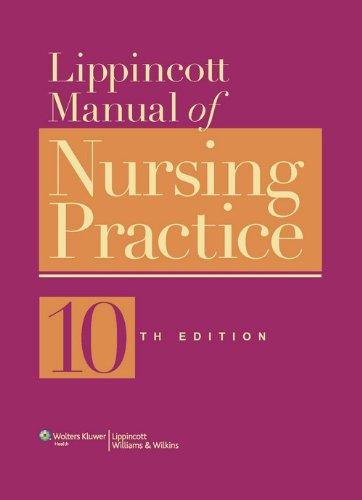 9788184739169: Lippincott Manual of Nursing Practice