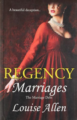 9788184744293: Regency Marriages : The Marriage Debt