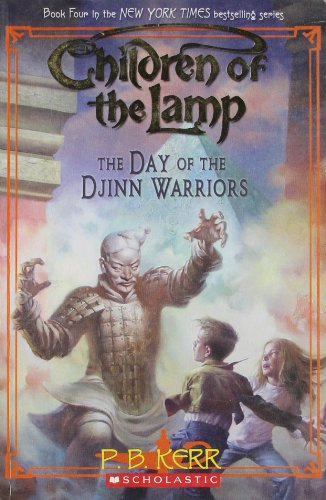 9788184770438: The Day of the Djinn Warriors (Children of the Lamp)