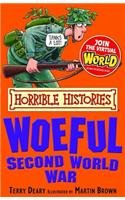 9788184775259: Horrible Histories: The Woeful Second World War
