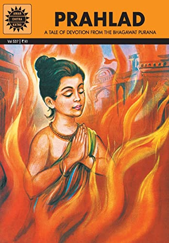 9788184820195: Prahlad: A Tale of Devotion From the Bhagawat Purana (Amar Chitra Katha) (Epics and Mythology)