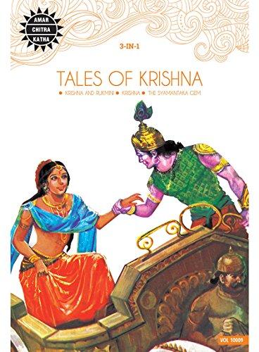Tales of Krishna: Krishna; Krishna and Rukmini;: Amar Chitra Katha