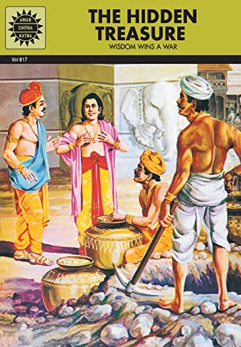 The Hidden Treasure: Wisdom Wins a War (Vol. 617): Amar Chitra Katha