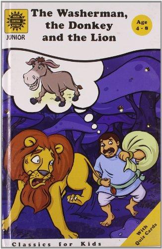 The Washerman, the Donkey and the Lion: Amar Chitra Katha