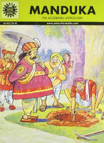 Manduka: The Accidental Astrologer (Vol. 803): Amar Chitra Katha
