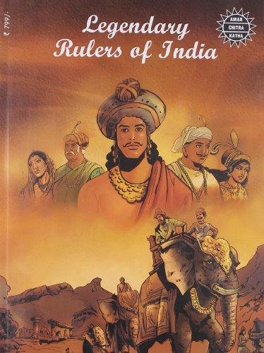 9788184825763: Legendary Rulers of India (15 in 1)