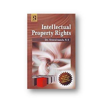 Intellectual Property Rights: Sreenivasulu N.S.