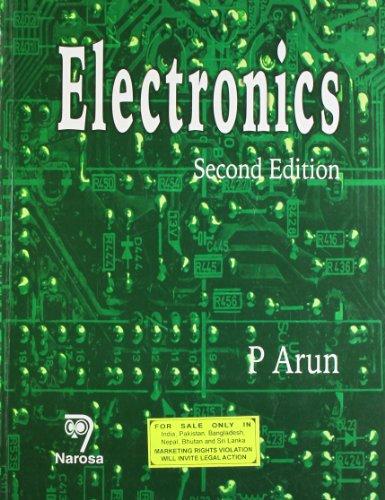 Electronics, Second Edition: P. Aruna